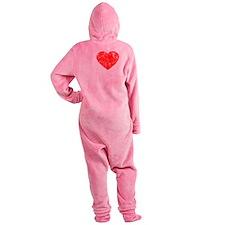 Love Rafa - dk Footed Pajamas