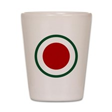 37th Infantry Division Shot Glass