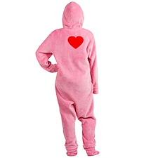 Love Rafa 2 -dk Footed Pajamas