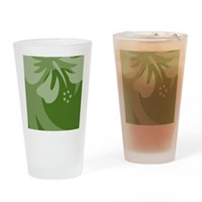 DarkGreen-iPad Drinking Glass