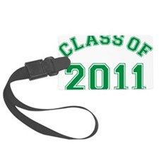 class-of-2011_green Luggage Tag