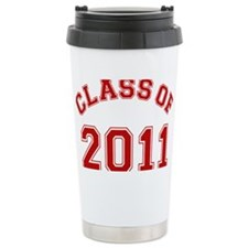 class-of-2011_red Ceramic Travel Mug