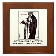 Beardsley Boys Framed Tile