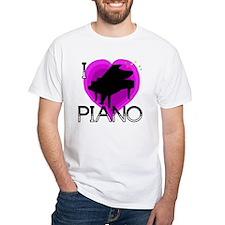 I Love Piano Shirt
