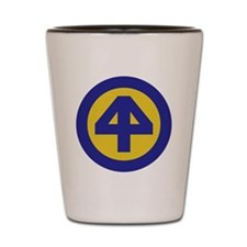 44th Infantry Division Shot Glass
