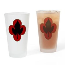 43rd Infantry Division Drinking Glass