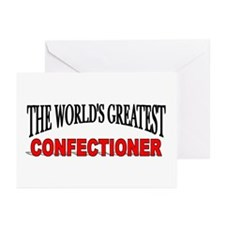 """""""The World's Greatest Confectioner"""" Greeting Cards"""