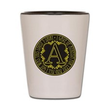 atheism-lent Shot Glass