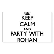 Keep Calm and Party with Rohan Decal