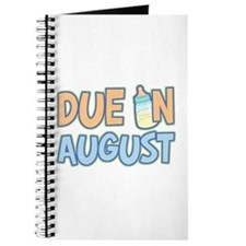 Due In August Boy Journal