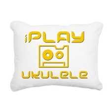 iPlay Ukulele Uke Rectangular Canvas Pillow