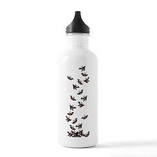 falling-blackbirds_y Water Bottle