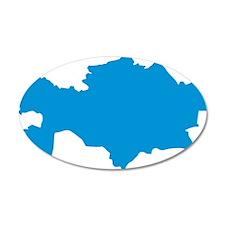 kazakhstan_map Wall Decal