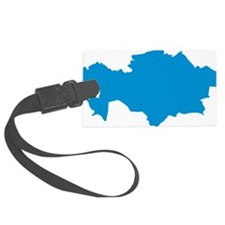 kazakhstan_map Luggage Tag