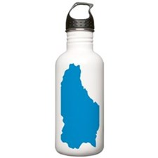 luxembourg_map Water Bottle