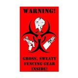 Biohazard Sticker (red)