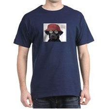 Black Lab Optometrist T-Shirt