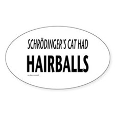 Schrodingers cat Decal