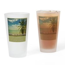 paradiset10x10_apparel Drinking Glass