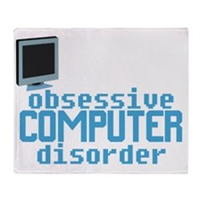 obsessivecomputerdisorderwh Throw Blanket