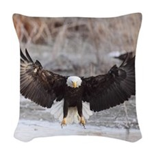 x10  4 Woven Throw Pillow