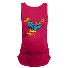 Baby Super Hero Maternity Tank Top