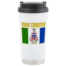 Yukon Territory-Flag Ceramic Travel Mug