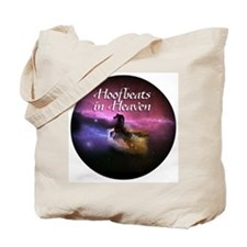 Hoofbeats In Heaven Tote Bag