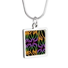 MGbeadsPatBk460_ipad Silver Square Necklace