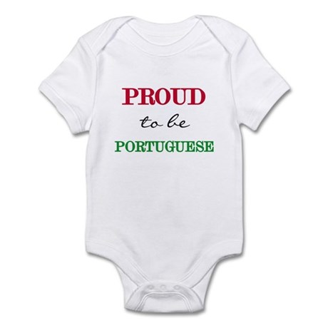 Portuguese Pride Infant Bodysuit