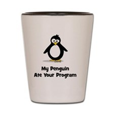 My Penguin Ate Your... Shot Glass