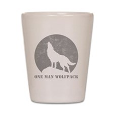 wolfpack2 Shot Glass