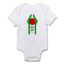 """""""INTACT...HUMAN RIGHT"""" Infant Bodysuit"""