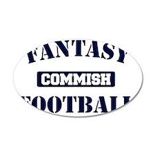 Fantasy-Football-Commish Wall Decal