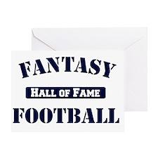 Fantasy-Football-Hall-of-Fame Greeting Card