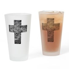 LordsPrayer Drinking Glass