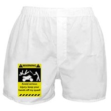 Warning_0111_14x10x6.5 Boxer Shorts