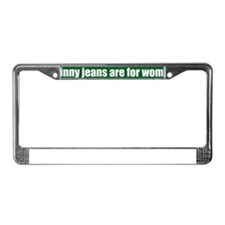 Skinny Jeans_HippieGreen_Impac License Plate Frame