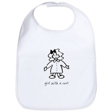 Giel With A Curl Bib