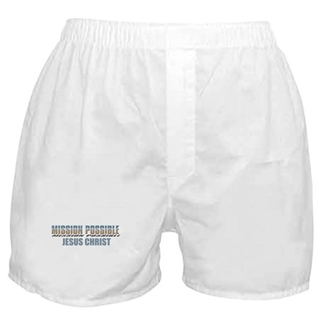 Mission Possible Boxer Shorts
