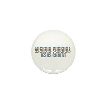 Mission Possible Mini Button (10 pack)