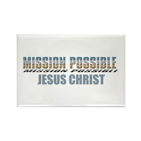 Mission Possible Rectangle Magnet (10 pack)