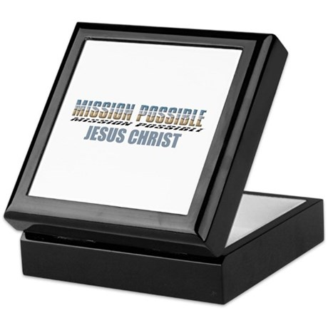Mission Possible Keepsake Box