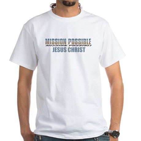 Mission Possible White T-Shirt