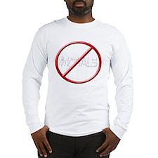 MORALITY FREE ZONE Long Sleeve T-Shirt