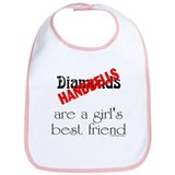 Girl's Best Friend Bib