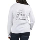"""schism = really bad"" women's long sleeve t"