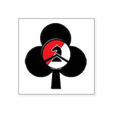 "Blackhorse Club Square Sticker 3"" x 3"""