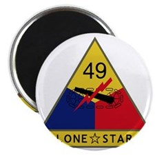 49th Armored Division - Lone Star Magnet