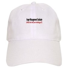 anger management graduate Baseball Baseball Cap